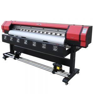 Impressora solvente exterior WER-ES1601 do eco da impressora do PVC da cabeça de impressão de 1604X DX5