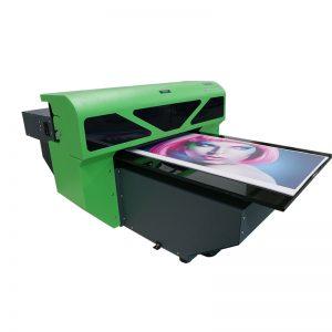 1800 tamanho A2 novo design têxtil impressora de mesa de vidro máquina de impressão WER-D4880UV