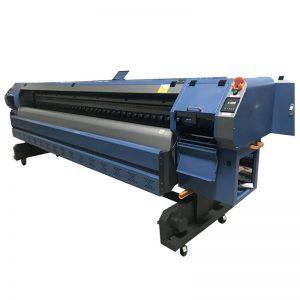 3.2 m Konica 512i cabeça de impressão de vinil digital flexível banner impressora solvente / plotter / máquina de impressão WER-K3204I