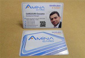 Amostra de prining de cartão de nome comercial da impressora de desktop uv -A2 tamanho WER-D4880UV