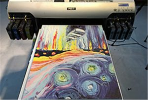 Amostra de lona da impressora UV A2 WER-EH4880UV