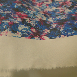 Amostra de impressão têxtil digital 2 pela impressora têxtil digital WER-EP7880T