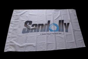 Bandeira de pano bandeira impressa por 1,6 m (5 pés) impressora eco solvente WER-ES160