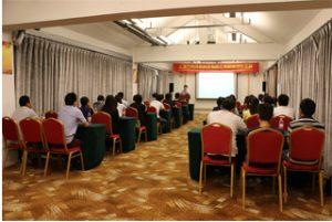 Reunião do grupo no Wanxuan Garden Hotel, 2015