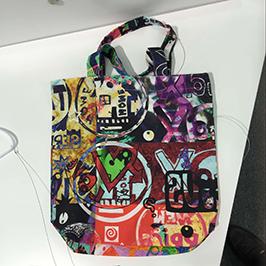 Amostra não tecida da impressão do saco pela impressora de matéria têxtil digital A1 WER-EP6090T
