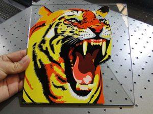 Solução de impressão em vidro de balcão