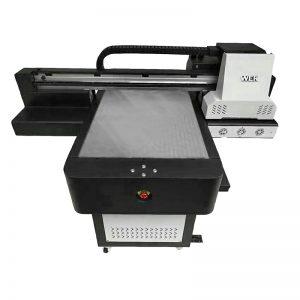 impressora UV do leito da caixa do telefone da alta qualidade pequena do tamanho - WER-ED6090UV
