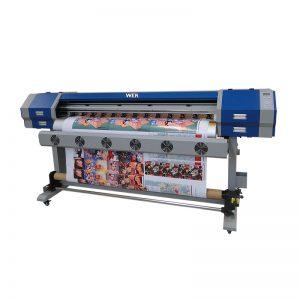 Impressora de injeção direta de sublimação 5113 cabeça de impressão digital máquina de impressão têxtil de algodão WER-EW160