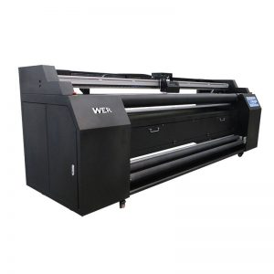 WER-E1802T 1.8m direto para impressora têxtil com 2 * DX5 impressora de sublimação