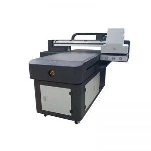 WER-ED6090UV grande formato multifunções jato de tinta digital de plástico 3D telha cerâmica UV impressora