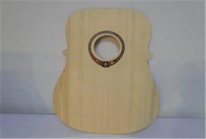 Amostra de madeira da guitarra da impressora uv do tamanho A2 WER-DD4290UV