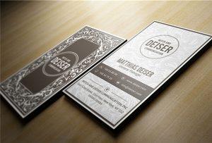 Cartão de nome de madeira impresso por A1-uv-WER-EP6090UV