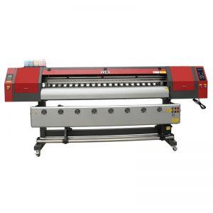 Melhor preço chinês t-shirt máquina de impressão de grande formato plotter digital impressora jato de tinta de sublimação têxtil WER-EW1902