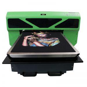 Impressão digital de sublimação personalizado seu próprio logotipo algodão homens camiseta dtg impressora para t-shirt WER-D4880T