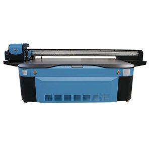 impressora UV completa 3D WER-G2513UV do leito do verniz branco de CMYK LCLM