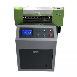 Direto ao vestuário panos de tecido digital máquina de impressão de tecido T-shirt impressora uv WER-ED6090T