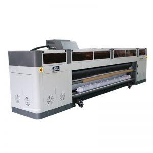 máquina digital de alta velocidade da impressora jato de tinta de alta resolução com plotter WER-G-3200UV da cabeça de cópia do ricoh gen5