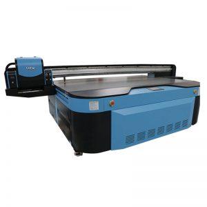 2.5m * 1.3m impressão tamanho 3D em relevo Industrial Led UV impressora para metal; madeira; vidro; cerâmica; placa; acrílico; pvc,